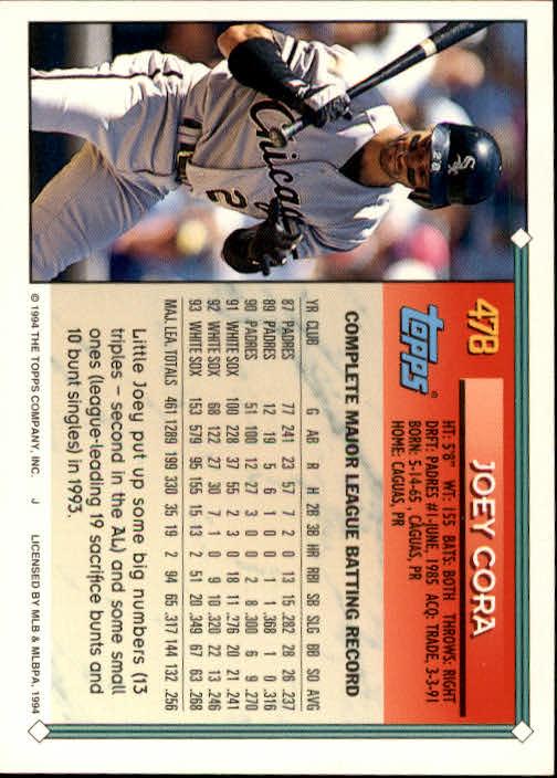 1994-Topps-Beisbol-Tarjeta-Recoger-461-792 miniatura 29