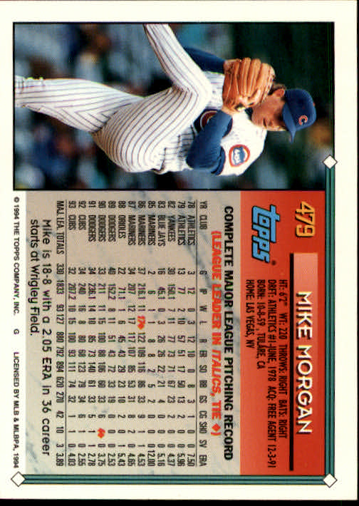 1994-Topps-Beisbol-Tarjeta-Recoger-461-792 miniatura 31