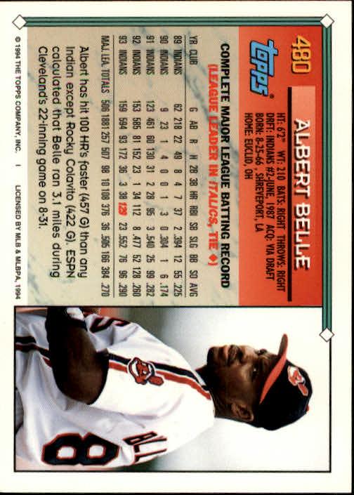 1994-Topps-Beisbol-Tarjeta-Recoger-461-792 miniatura 33