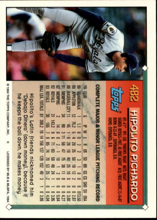 1994-Topps-Beisbol-Tarjeta-Recoger-461-792 miniatura 37