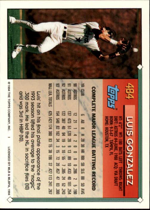 1994-Topps-Beisbol-Tarjeta-Recoger-461-792 miniatura 41