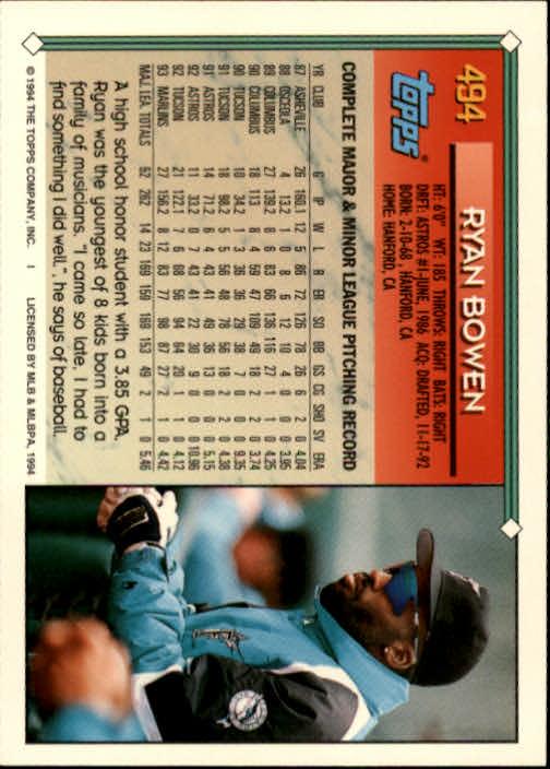 1994-Topps-Beisbol-Tarjeta-Recoger-461-792 miniatura 53
