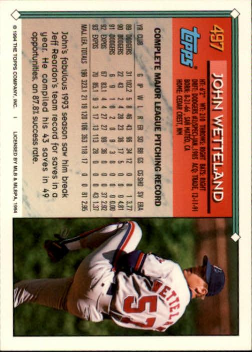 1994-Topps-Beisbol-Tarjeta-Recoger-461-792 miniatura 59