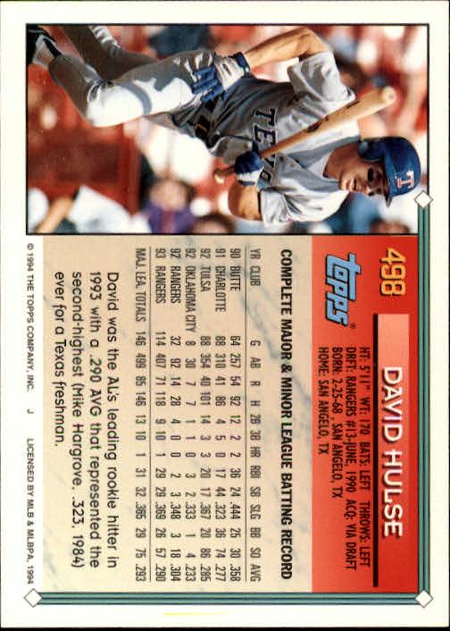 1994-Topps-Beisbol-Tarjeta-Recoger-461-792 miniatura 61