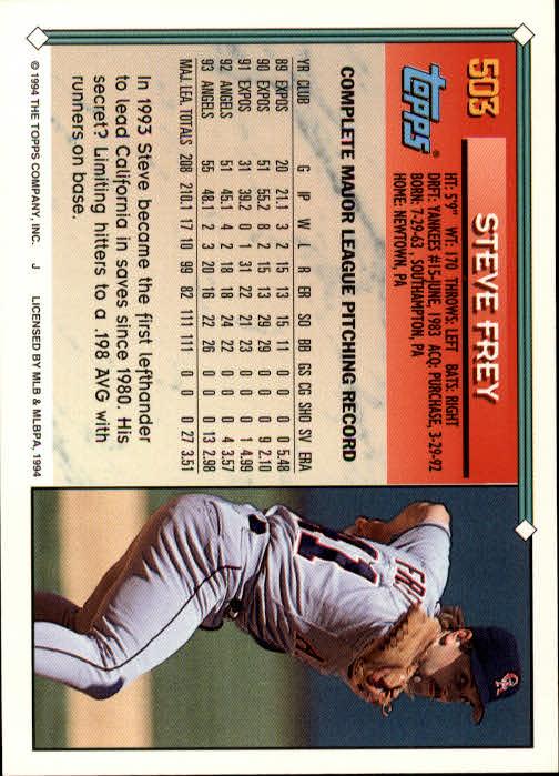 1994-Topps-Beisbol-Tarjeta-Recoger-461-792 miniatura 67