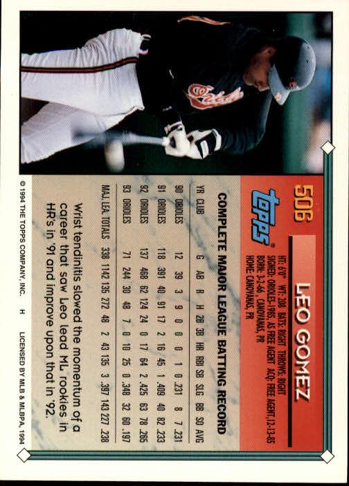 1994-Topps-Beisbol-Tarjeta-Recoger-461-792 miniatura 73