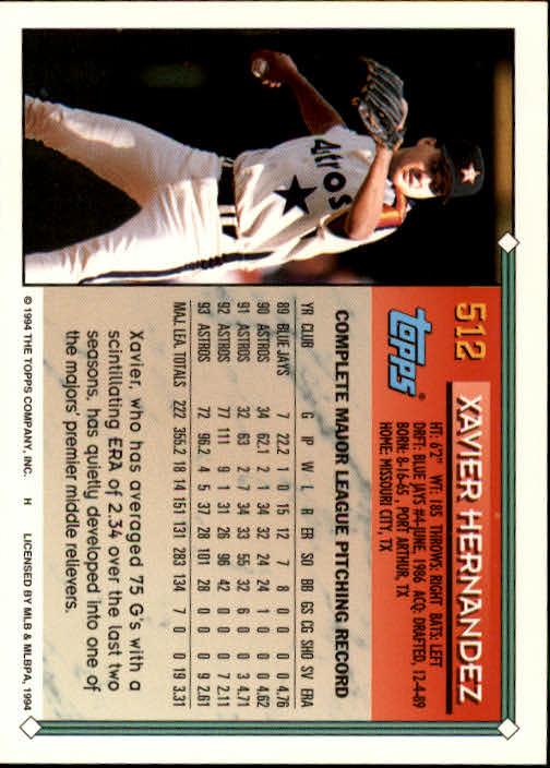1994-Topps-Beisbol-Tarjeta-Recoger-461-792 miniatura 81