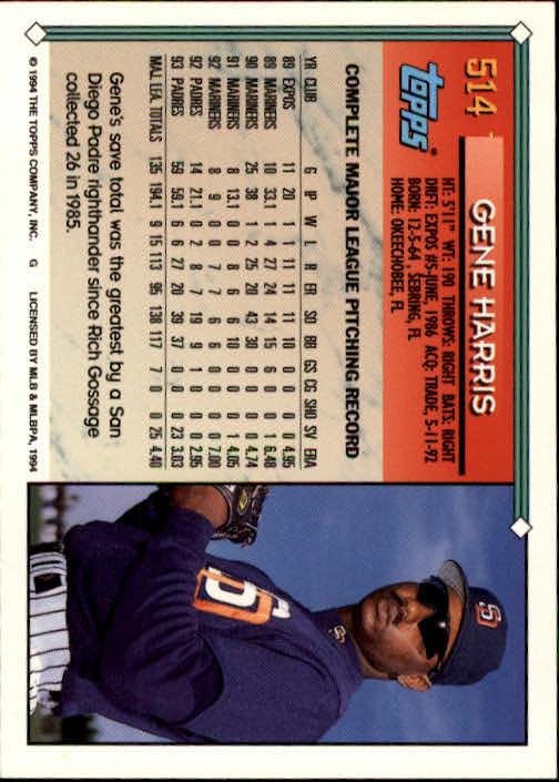 1994-Topps-Beisbol-Tarjeta-Recoger-461-792 miniatura 85