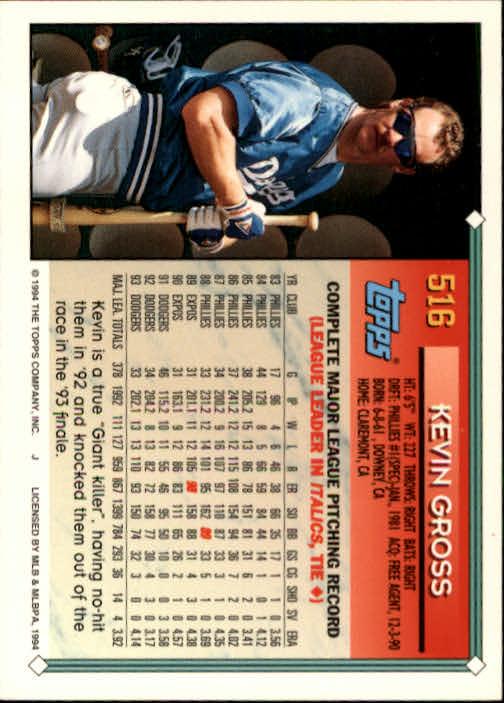 1994-Topps-Beisbol-Tarjeta-Recoger-461-792 miniatura 89