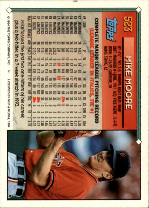 1994-Topps-Beisbol-Tarjeta-Recoger-461-792 miniatura 99
