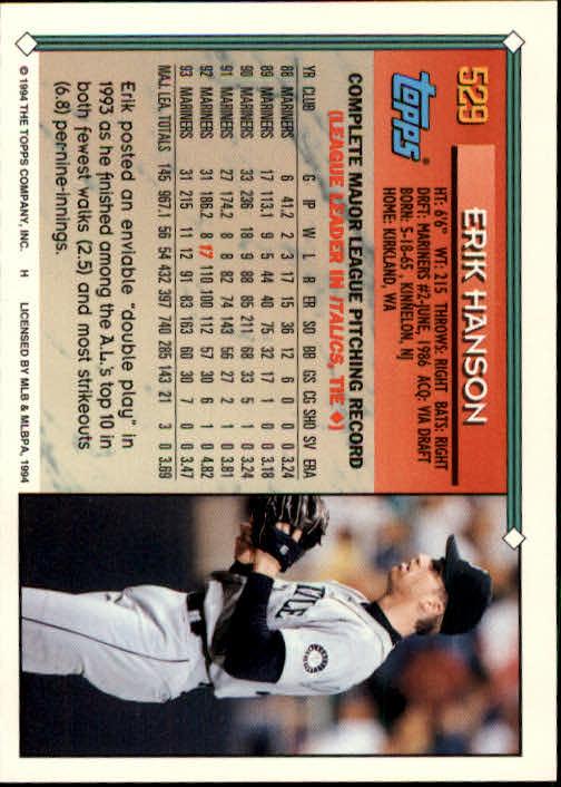 1994-Topps-Beisbol-Tarjeta-Recoger-461-792 miniatura 102