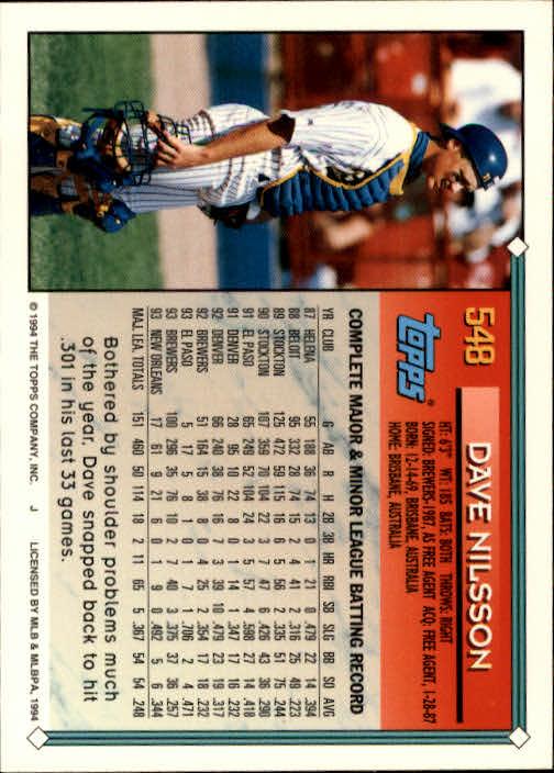 1994-Topps-Beisbol-Tarjeta-Recoger-461-792 miniatura 133