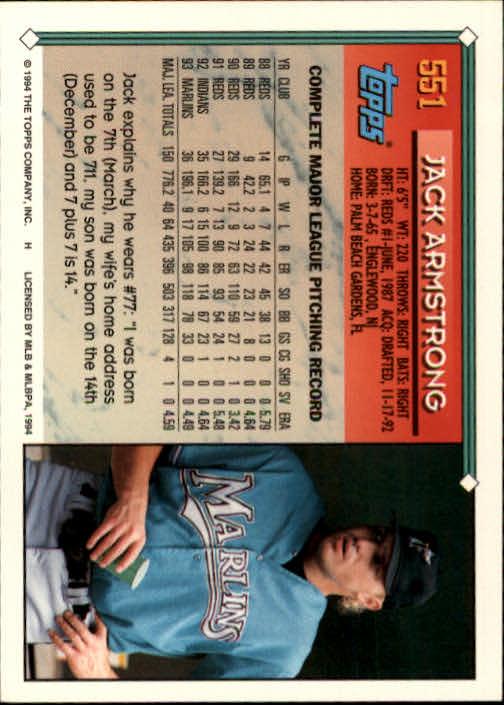 1994-Topps-Beisbol-Tarjeta-Recoger-461-792 miniatura 139