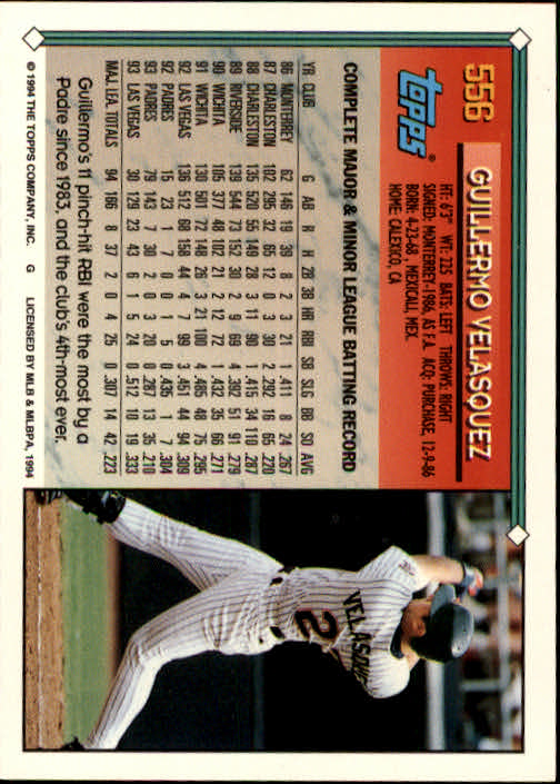 1994-Topps-Beisbol-Tarjeta-Recoger-461-792 miniatura 148