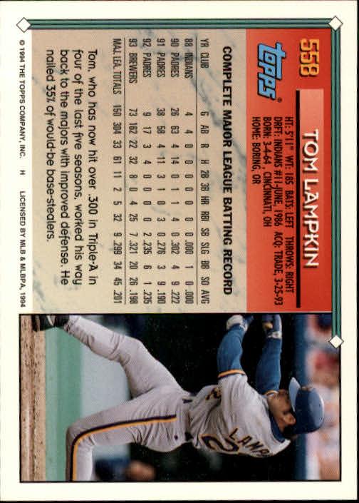 1994-Topps-Beisbol-Tarjeta-Recoger-461-792 miniatura 150