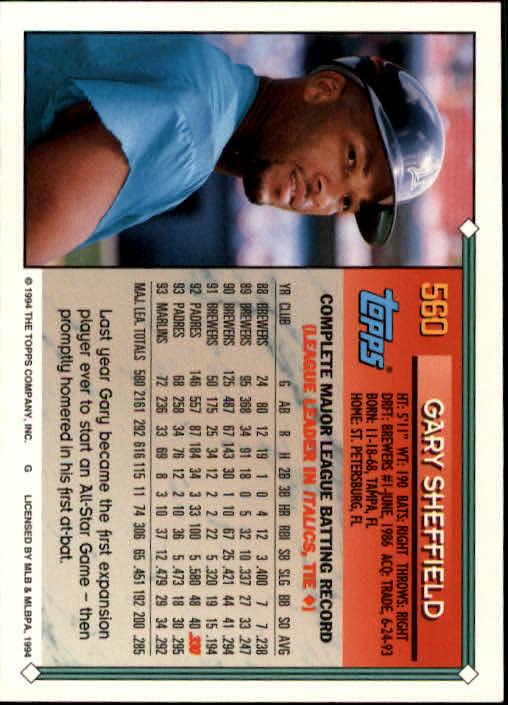 1994-Topps-Beisbol-Tarjeta-Recoger-461-792 miniatura 154