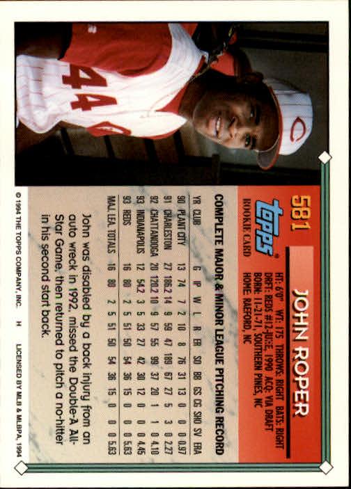 1994-Topps-Beisbol-Tarjeta-Recoger-461-792 miniatura 192