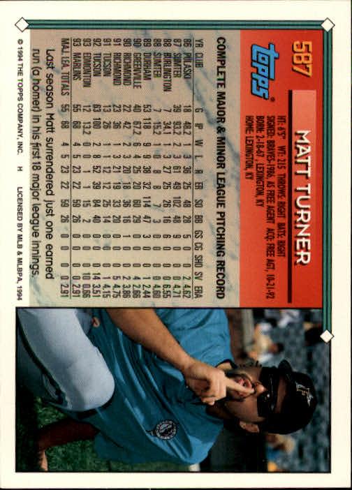 1994-Topps-Beisbol-Tarjeta-Recoger-461-792 miniatura 200