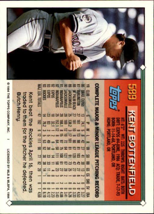 1994-Topps-Beisbol-Tarjeta-Recoger-461-792 miniatura 204