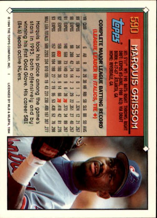 1994-Topps-Beisbol-Tarjeta-Recoger-461-792 miniatura 206