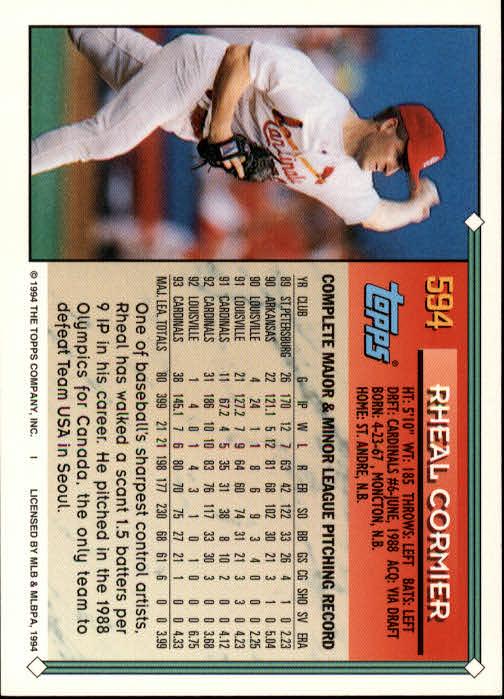 1994-Topps-Beisbol-Tarjeta-Recoger-461-792 miniatura 214