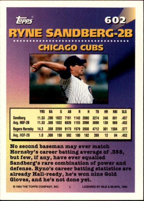 1994-Topps-Beisbol-Tarjeta-Recoger-461-792 miniatura 222