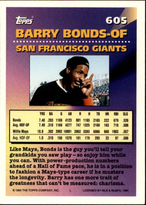 1994-Topps-Beisbol-Tarjeta-Recoger-461-792 miniatura 224