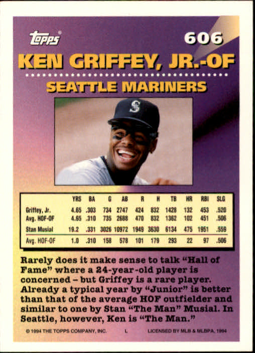 1994-Topps-Beisbol-Tarjeta-Recoger-461-792 miniatura 226