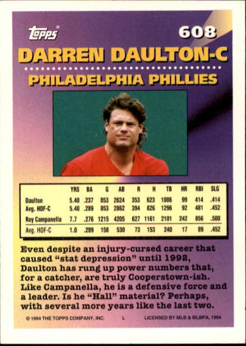 1994-Topps-Beisbol-Tarjeta-Recoger-461-792 miniatura 228