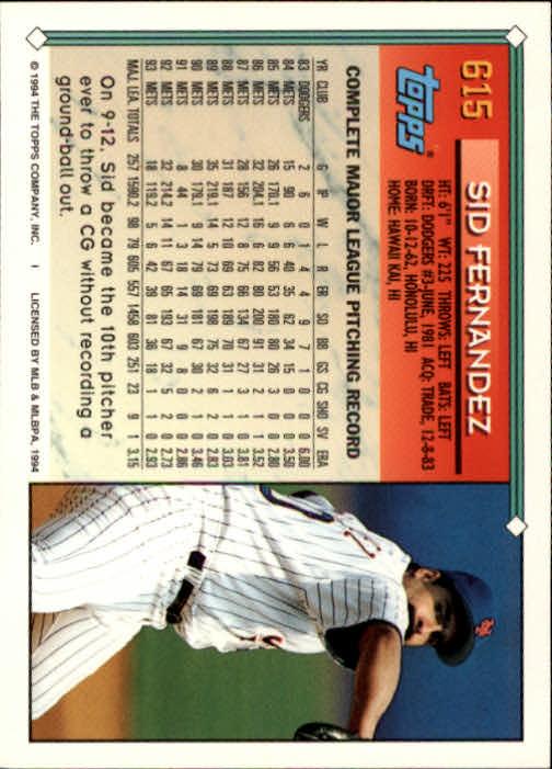 1994-Topps-Beisbol-Tarjeta-Recoger-461-792 miniatura 240