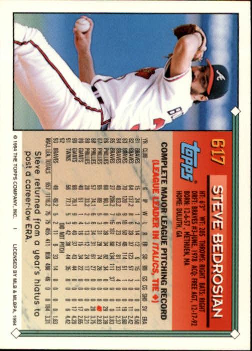 1994-Topps-Beisbol-Tarjeta-Recoger-461-792 miniatura 242