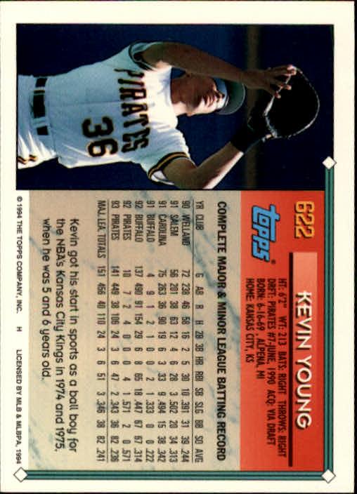 1994-Topps-Beisbol-Tarjeta-Recoger-461-792 miniatura 246