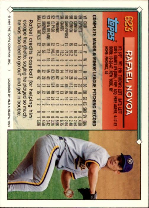 1994-Topps-Beisbol-Tarjeta-Recoger-461-792 miniatura 248