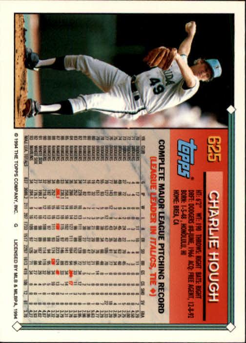 1994-Topps-Beisbol-Tarjeta-Recoger-461-792 miniatura 252