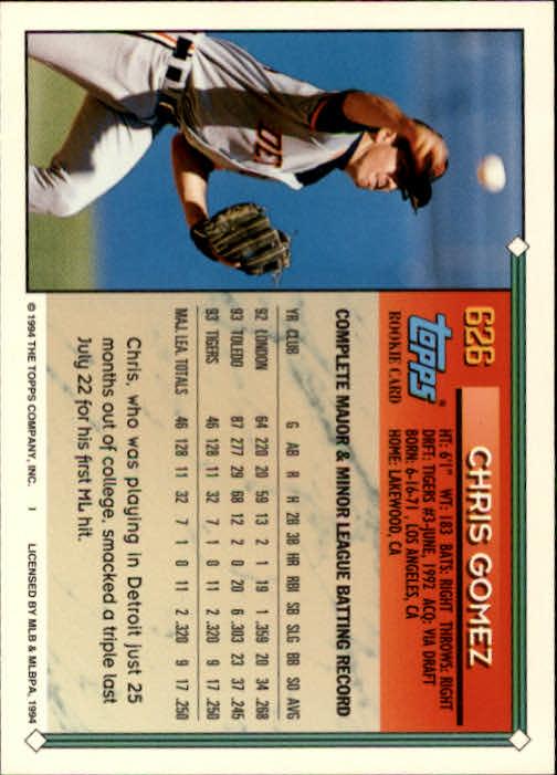 1994-Topps-Beisbol-Tarjeta-Recoger-461-792 miniatura 254