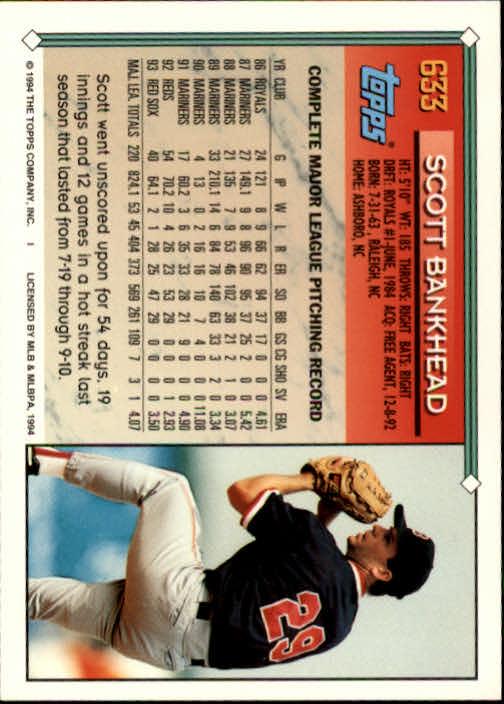 1994-Topps-Beisbol-Tarjeta-Recoger-461-792 miniatura 266