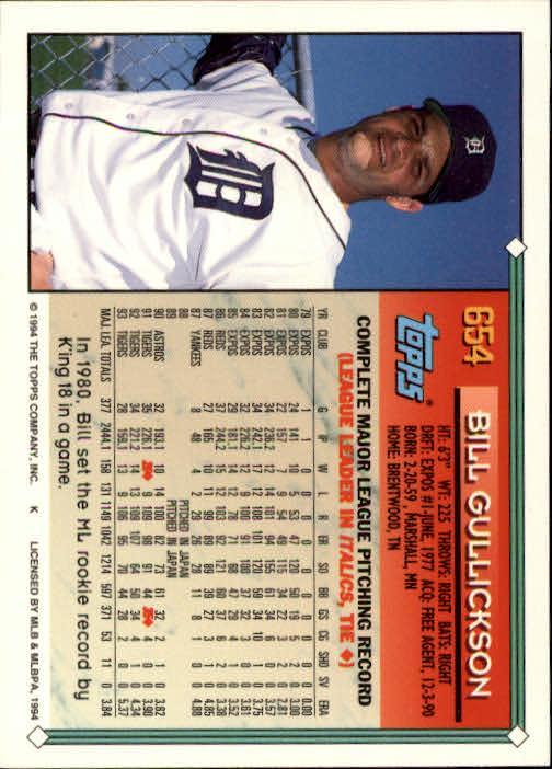 1994-Topps-Beisbol-Tarjeta-Recoger-461-792 miniatura 304
