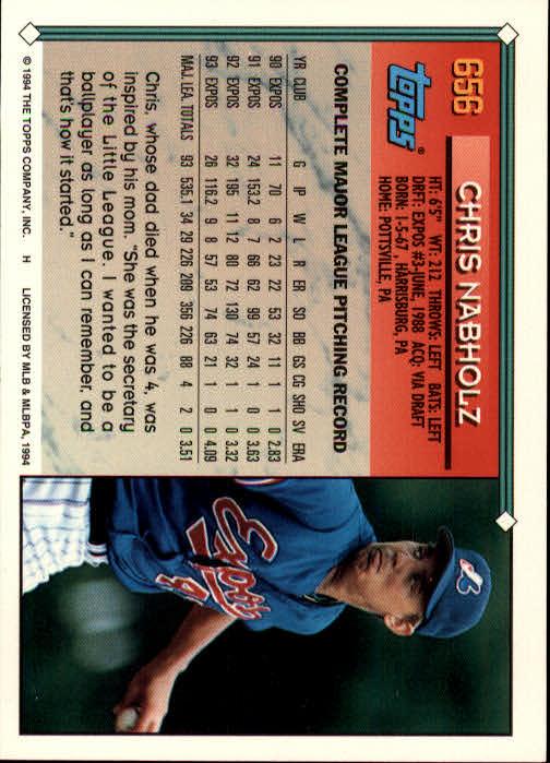 1994-Topps-Beisbol-Tarjeta-Recoger-461-792 miniatura 308