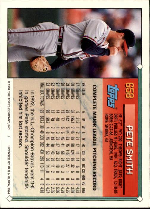1994-Topps-Beisbol-Tarjeta-Recoger-461-792 miniatura 312