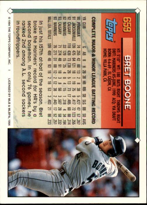 1994-Topps-Beisbol-Tarjeta-Recoger-461-792 miniatura 314