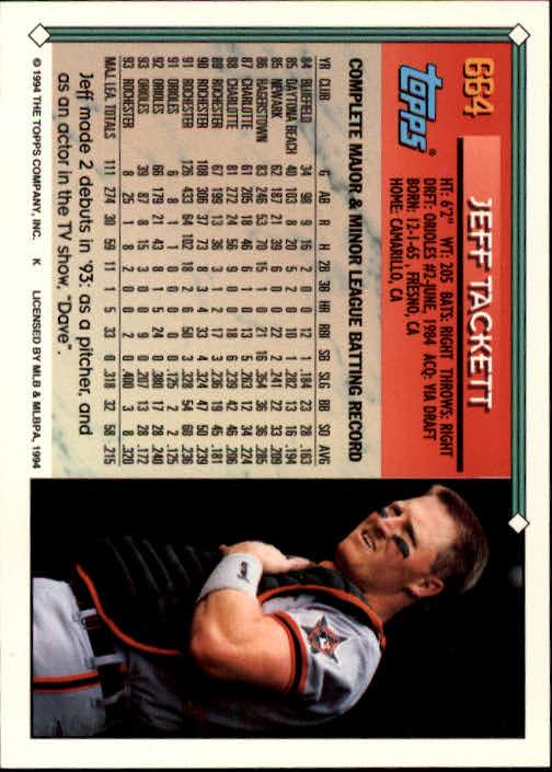1994-Topps-Beisbol-Tarjeta-Recoger-461-792 miniatura 322
