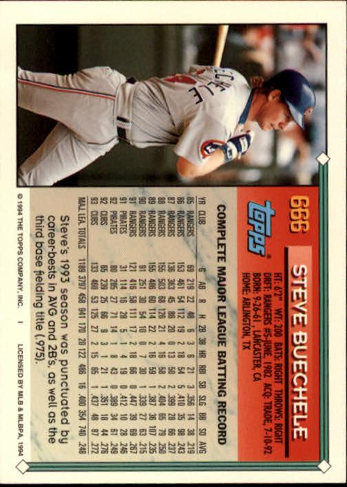 1994-Topps-Beisbol-Tarjeta-Recoger-461-792 miniatura 326