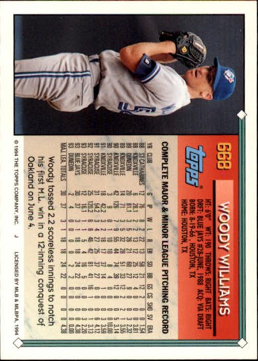 1994-Topps-Beisbol-Tarjeta-Recoger-461-792 miniatura 330