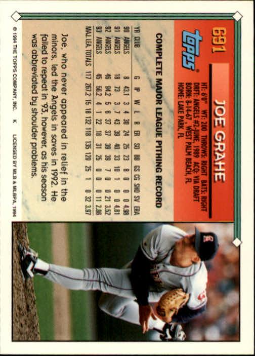 1994-Topps-Beisbol-Tarjeta-Recoger-461-792 miniatura 358