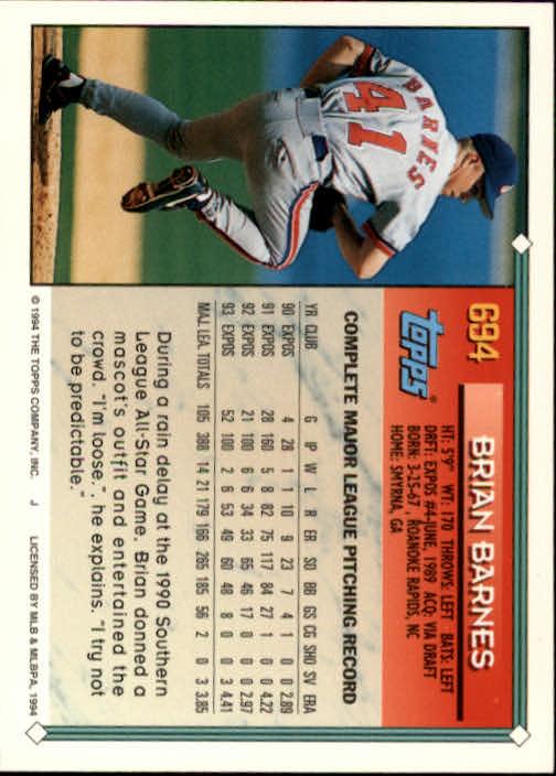 1994-Topps-Beisbol-Tarjeta-Recoger-461-792 miniatura 362