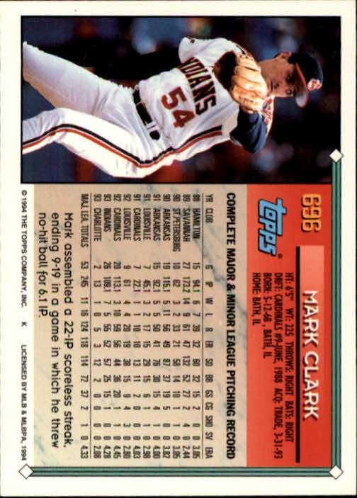 1994-Topps-Beisbol-Tarjeta-Recoger-461-792 miniatura 364