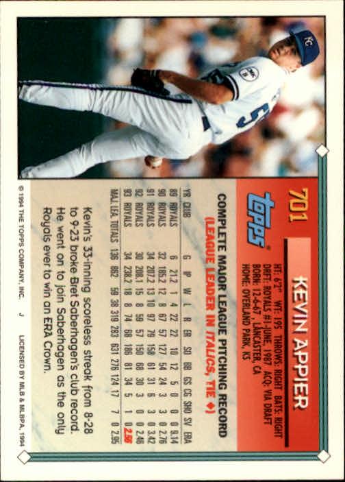 1994-Topps-Beisbol-Tarjeta-Recoger-461-792 miniatura 370
