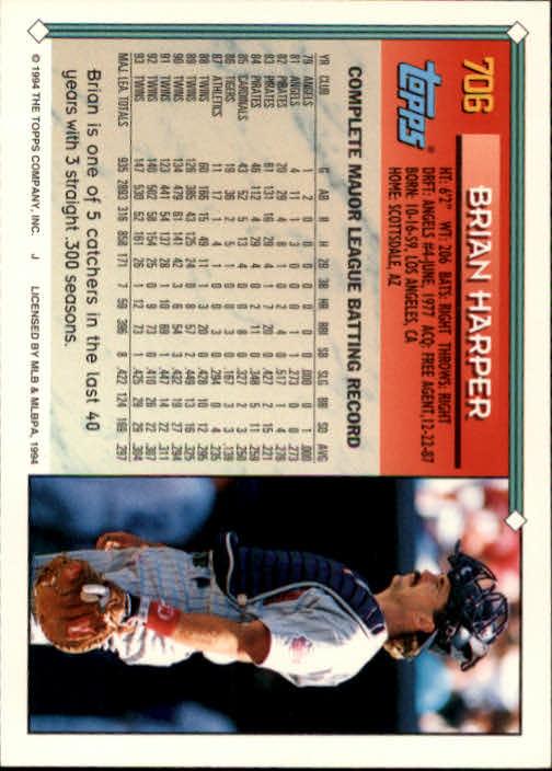 1994-Topps-Beisbol-Tarjeta-Recoger-461-792 miniatura 380