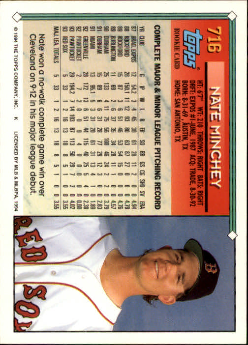 1994-Topps-Beisbol-Tarjeta-Recoger-461-792 miniatura 393