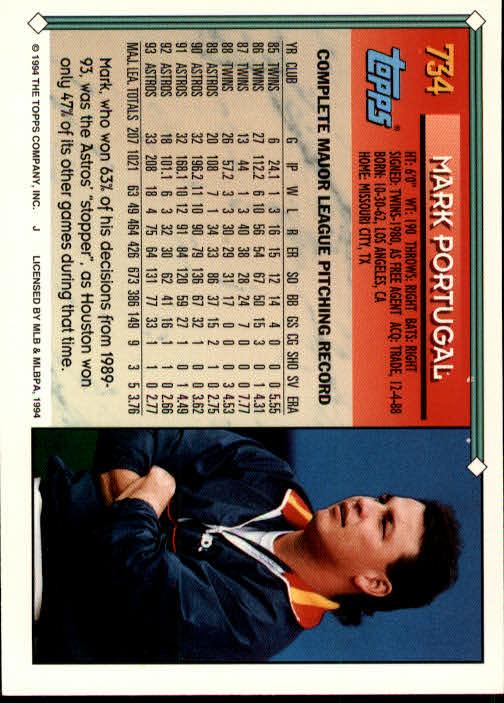 1994-Topps-Beisbol-Tarjeta-Recoger-461-792 miniatura 413